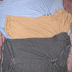 TWO American Eagle tees